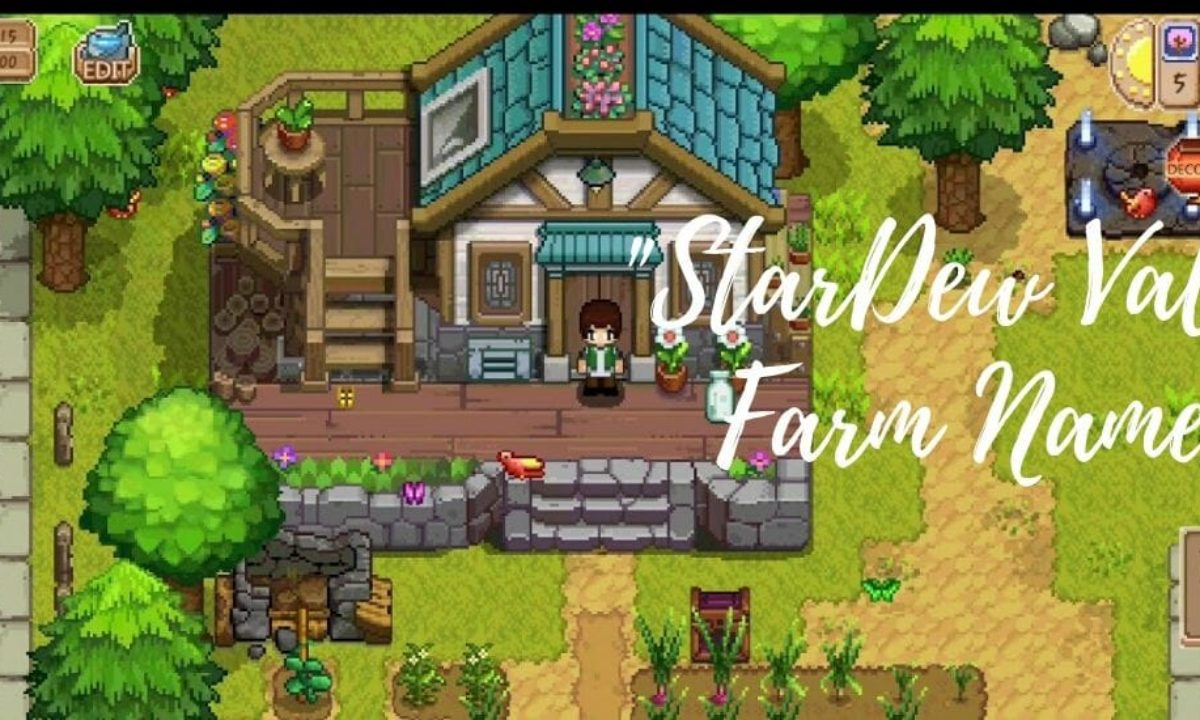 Good Funny Stardew Valley Forest Farm Names